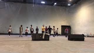 akkineni akhil practice session for hello audio launch choreography by aaa sandeep master