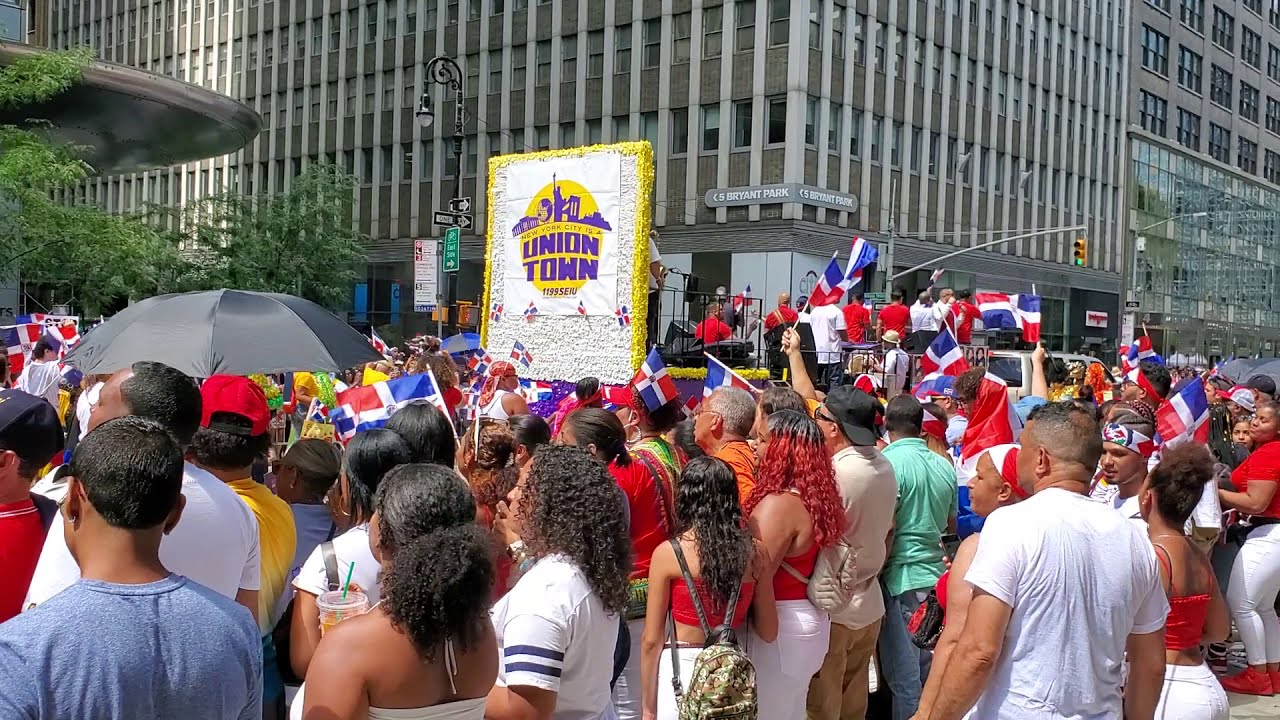 THE CARIBBEAN NATION OF THE DOMINICAN REPUBLIC DAY PARADE 2019 MANHATTAN NEW YORK CITY USA