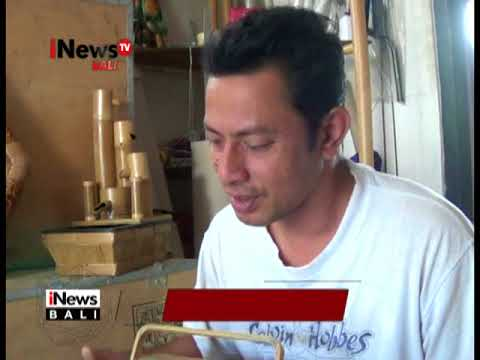 KERAJINAN RADIO DARI BAMBU - iNews Bali