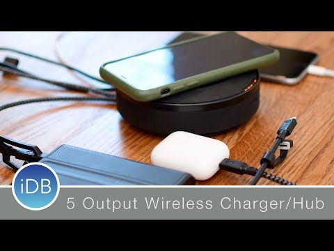 Nomad's Wireless Charging Hub as 5 Powerful Outputs - Review