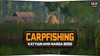 Русская Рыбалка 4 — Стрим. Ловим карпов катушками Narga 8000