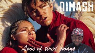 """Dimash Kudaibergen - """"Love of tired swans"""" - Любовь уставших лебедей (Official video)   Reaction"""