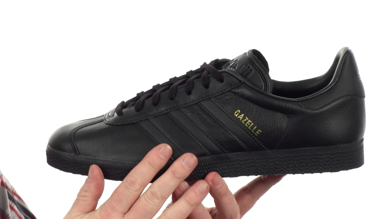 Invitación líquido capacidad  adidas Originals Gazelle Tonal Leather SKU:8809212 - YouTube