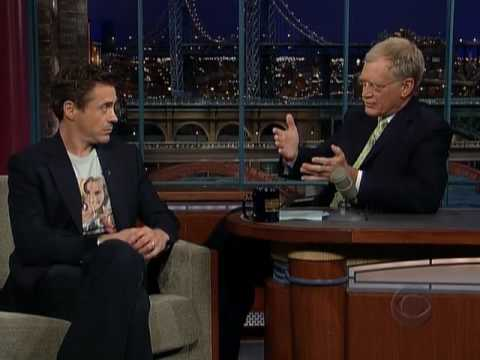 Robert Downey Jr. - Late Show with David Letterman 06/28/06