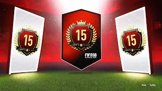15TH IN THE WORLD MONTHLY REWARDS! - FUT CHAMPS MONTHLY  REWARDS! - FIFA 18 Ultimate Team