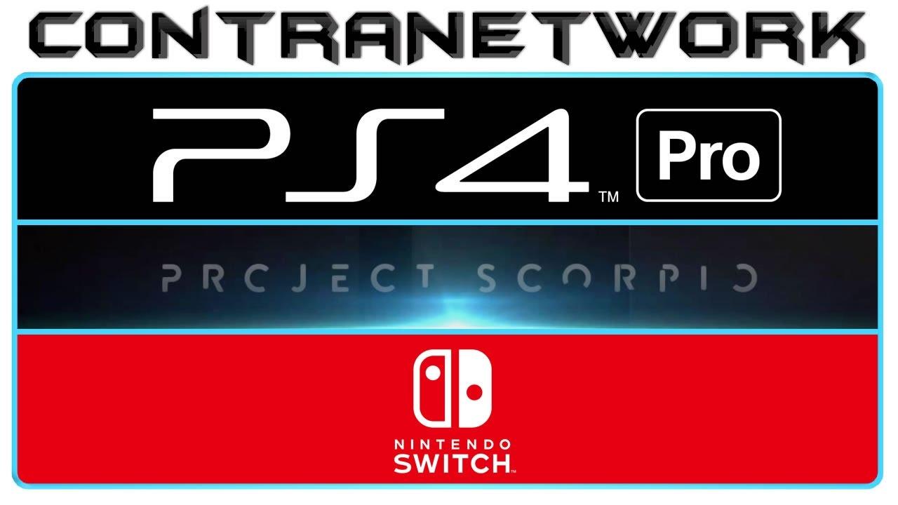 Ps4 Pro Vs Xbox Scorpio Vs Nintendo Switch Youtube
