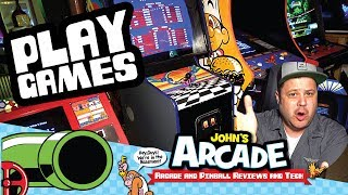 I just wanna play Arcade Games.