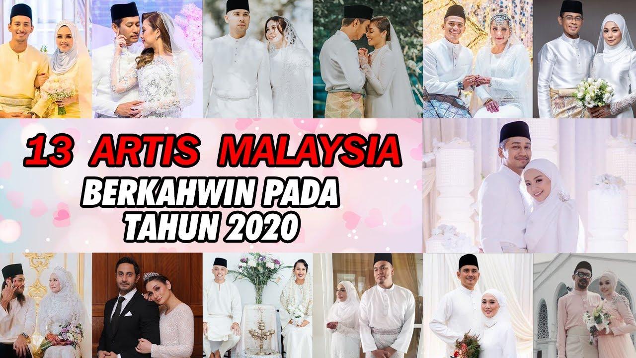 Download 13 Artis Malaysia Berkahwin Sepanjang 2020