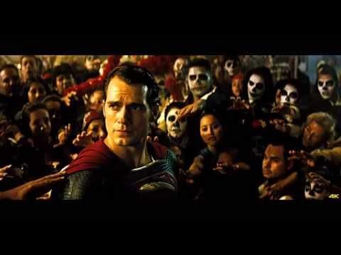 4K Movie Trailer  Batman v Superman Dawn of Justice Official   Poster