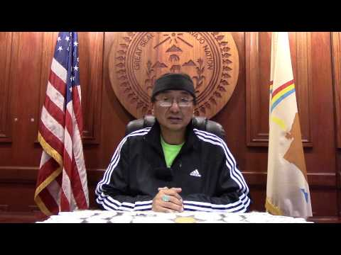 Navajo Nation Vice President Rex Lee Jim on the Navajo Department of Health