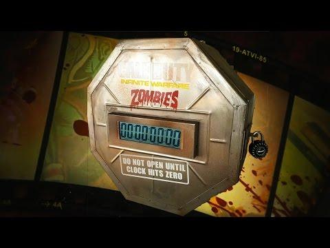 INFINITE WARFARE ZOMBIES EASTER EGG SECRET BOX SNEAK PEAK & TRAILER RELEASE!