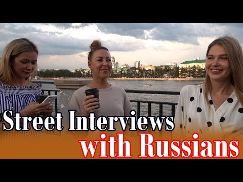 Street Interviews with Russians  - Stereotypes About Russia