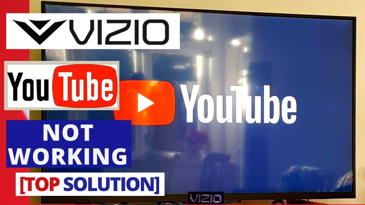 How to Fix Youtube App Not Working on VIZIO Smart TV || Youtube won't work  on VIZIO TV