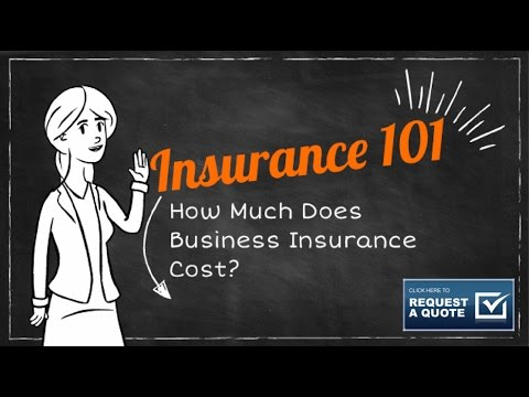 How Much Does Business/Commercial Insurance Cost?
