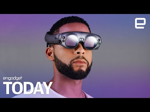 Magic Leap takes the wrapper off its mixed reality headset | Engadget Today