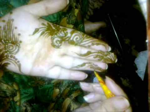 Mehndi Diya Design : Henna designs by diya youtube