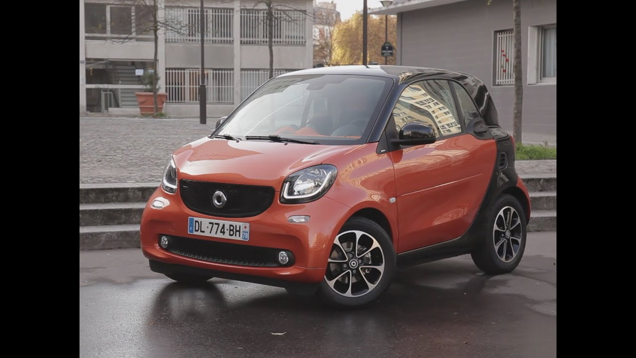 essai smart fortwo 1 0 71 passion 2014 youtube. Black Bedroom Furniture Sets. Home Design Ideas