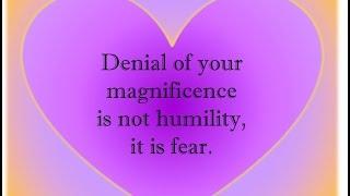 Ending False Humility (Prelude Part 2)