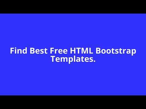 Free HTML TEMPLATE Download.