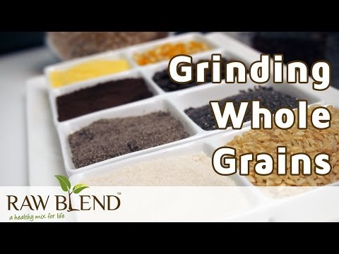 How to Grind Whole Grains in a Vitamix 5200 Blender by Raw Blend