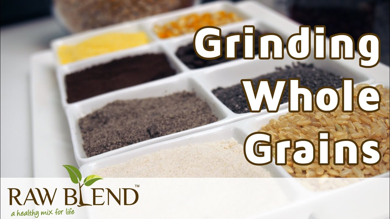 How to grind whole grains in a vitamix 5200 blender by raw blend how to grind whole grains in a vitamix 5200 blender by raw blend youtube forumfinder Choice Image