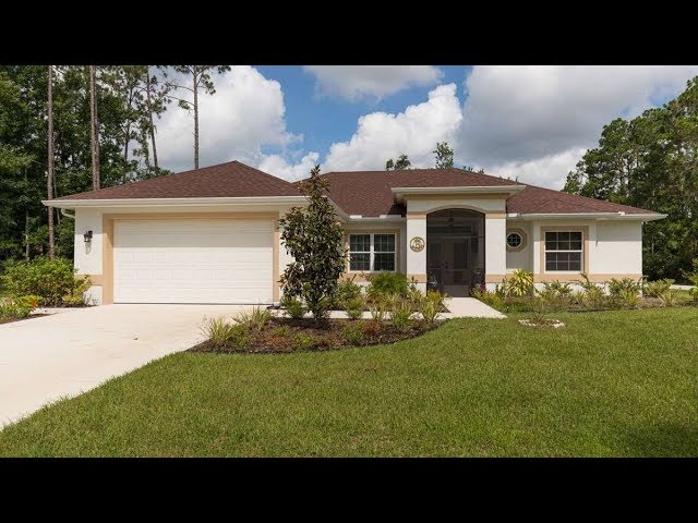 Certified Green Home in Palm Coast, Florida. Model Mercedes