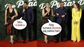 Ajay Devgn Makes FUN of Ex-Girlfriend Tabu At De De Pyaar De Trailer Launch