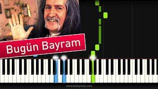 Barış Manço - Bugün Bayram - Synthesia Piano