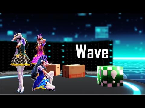 [MMD] Wave - Zelda   Lucina   FitTrainer