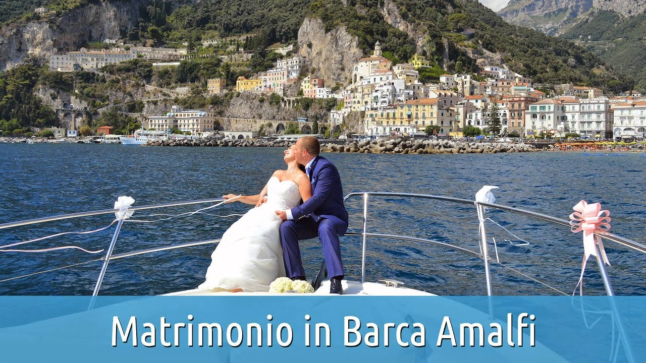 Conosciuto Matrimonio in Barca Amalfi - Capri Marine Limousine - YouTube BO31