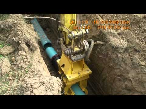PipePilot,  Pipe Laying,  Materials Handling device,  Materi