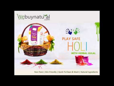 Herbal Gulal powder – Holi Colors – Lustrous Herbal Gulal