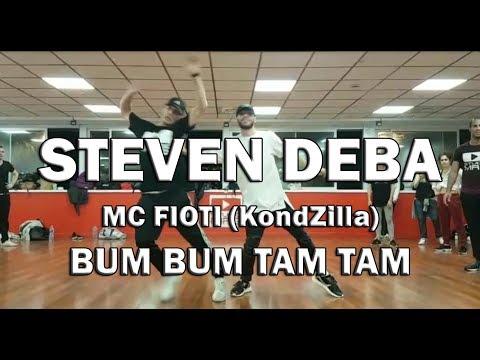 Bum Bum Tam Tam (KondZilla) MC Fioti   Studio MRG   STEVEN DEBA