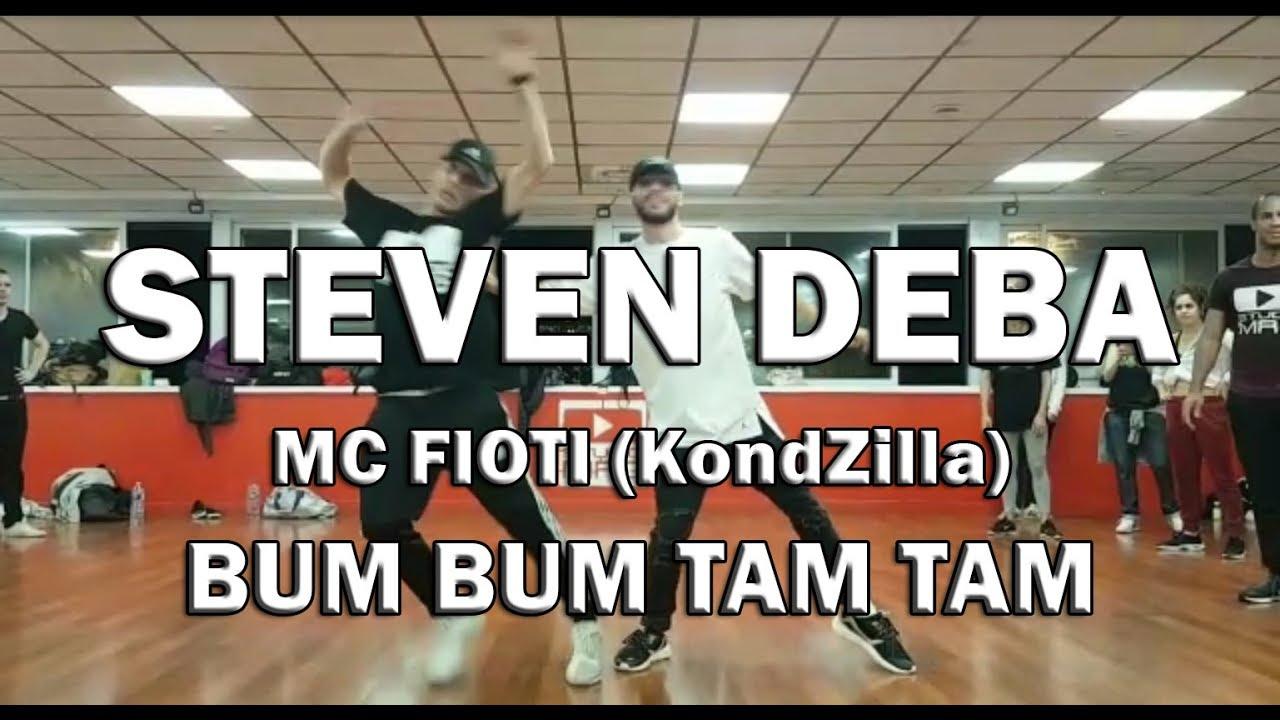 Bum Bum Tam Tam (KondZilla) MC Fioti | Studio MRG | STEVEN DEBA