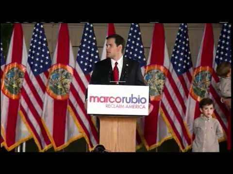 Marco Rubio Wins Fla. Senate Race