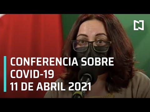 Informe diario Covid-19 en Vivo - 11 de Abril 2021