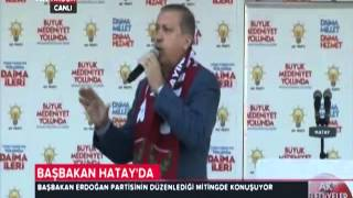 Başbakan Erdoğan 22 Mart 2014 / Hatay Mitingi