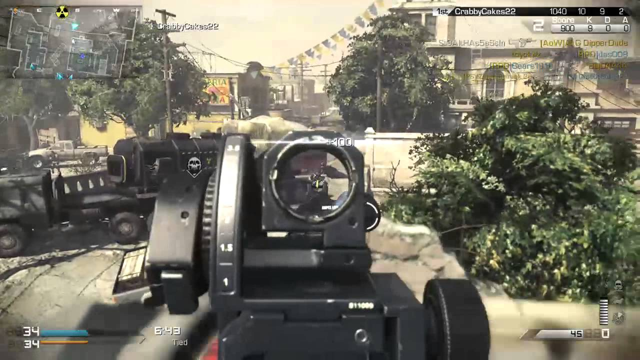 Call of duty:Ghost multiplayer gameplay on the XBOX ONE ...