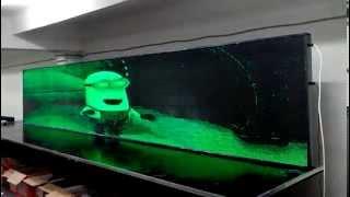 Светодиодная рекламная вывеска с видеороликом. Фабрика Диодов(Монохромный электронный led экран с видео зелёного цвета. Выгодно дополнит любую вывеску и привлечёт вниман..., 2015-04-24T13:58:20.000Z)