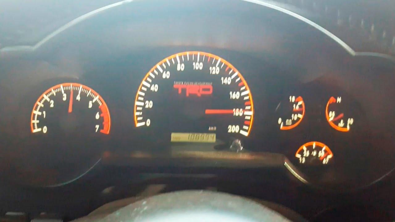 Toyota Fj Cruiser Trd Supercharger 180 км ч разгон антибукс