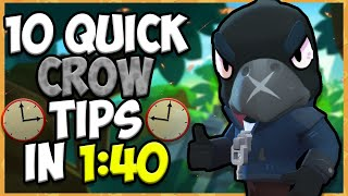 10 QUICK Tips About: Crow????- Brawl Stars
