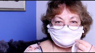 как сделать медицинскую маску   из  детских антибактериальных салфеток