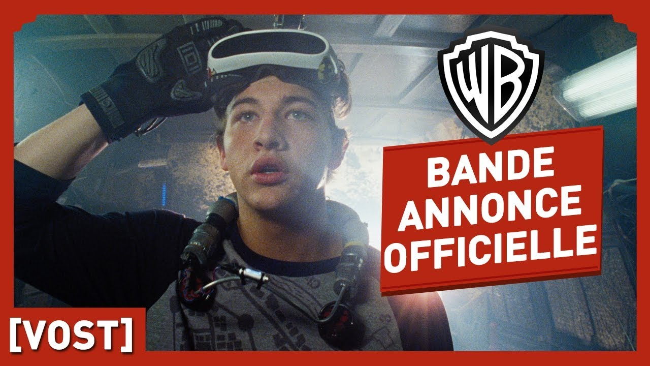 Ready Player One - Bande-Annonce Officielle (VOST) - Steven Spielberg