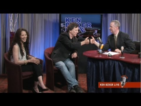 """Ken Boxer Live,"" Actor and Writer Richard Hatch is Guest, with Co-Host Tai Babilonia"