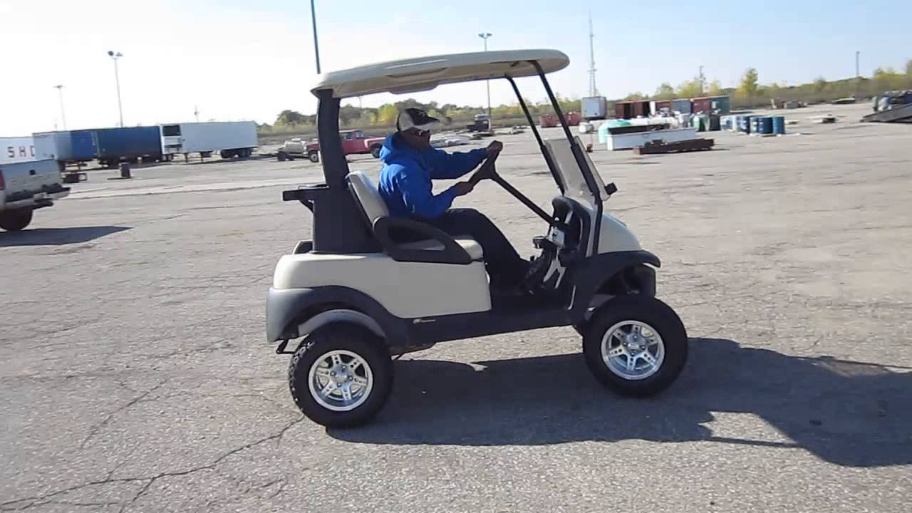 2008 Club Car Precedent, Gas Powered Golf Cart - YouTube Kawasaki Gas Powered Golf Carts Html on