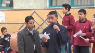 كلمة الصباح بطابور مدارس طيبة بعنوان التفوق الدراسي3 4 2013