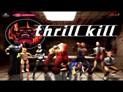 Thrill Kill - All Characters & Unlockables