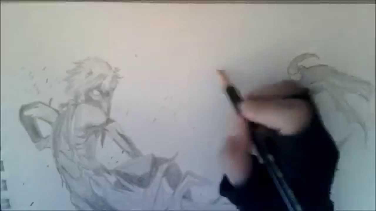 Dibujando a Kaneki SemiKakuja Tokyo Ghoul Manga a cmara rpida