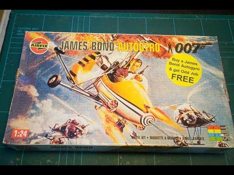 WHOA NELLIE! James Bonds Airfix Little Nellie Autogyro Part 1