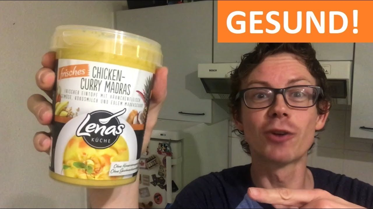 Lenas Küche: Frisches Chicken Curry Madras im Test mit Junkfoodguru Fail!